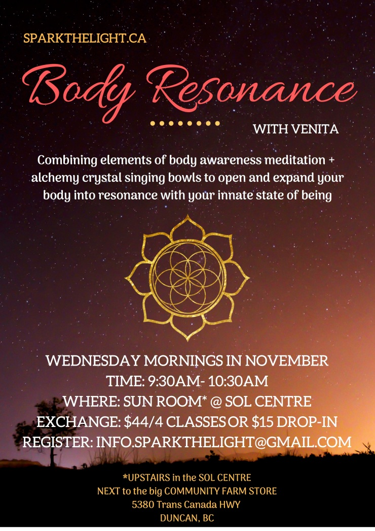 NOV BODY RESONANCE